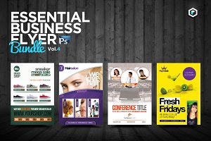 RW Essential Business Flyers Vol 4