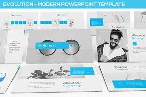 Evolution - Modern Powerpoint