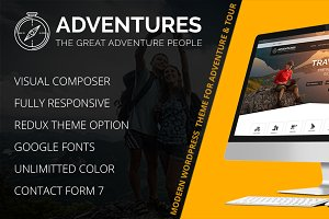 Adventure and Tour WordPress Theme