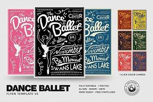 Dance Ballet Flyer Template V3