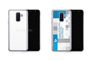 Galaxy A6 Plus 2d PC Clear Case