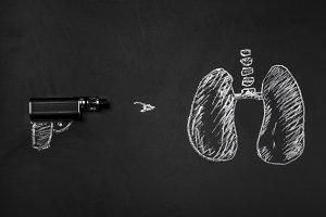 lungs  and a gun