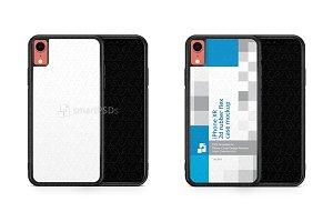 iPhone XR 2d RubberFlex Mobile Case