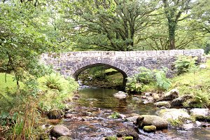Stone Bridge in Dartmoor Forest