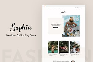 Sophia - WordPress Blog Theme