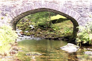 Stone Bridge of Dartmoor Forest