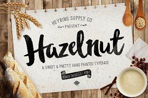 Hazelnut Typeface + Bonus Extras