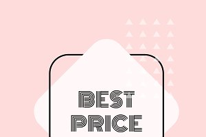 Best price promotion vector