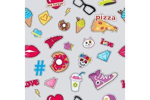 Cap, Sport Footwear, Pizza, Doughnut