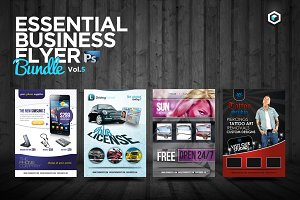 RW Essential Business Flyers Vol 5