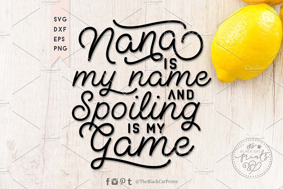 Download Auntie is my name SVG DXF EPS PNG | Pre-Designed Photoshop ...