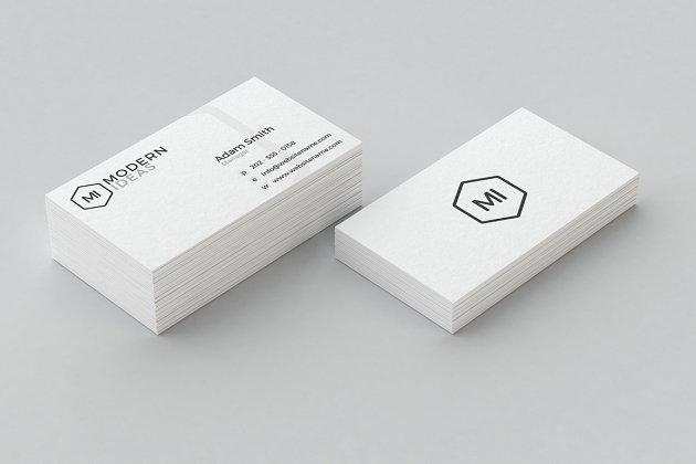 Minimal business card template business card templates creative minimal business card template colourmoves