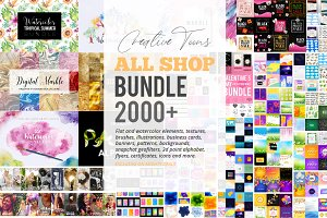 2000+ Resources, All Shop Bundle