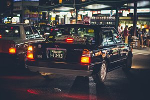 Kyoto Night Taxi