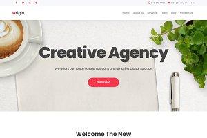Origin - Multipurpose Business Theme