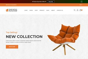 Fusta - Furniture Shopify Theme