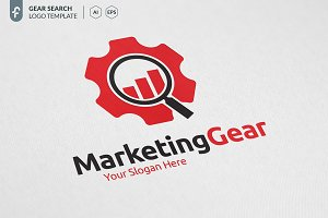 Marketing Gear Logo