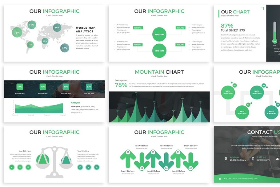 Monologue - Powerpoint Presentation in Presentation Templates - product preview 3