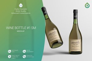 Wine Bottle SM Mock-Up #1 [V2.0]