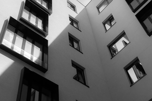 Architecture Stock Photos: VictorGrow - The geometry of the windows on the