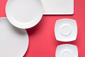Composition of various white plates