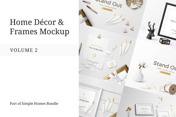 Home Decor and Frames Mockup Vol. 2