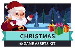 Christmas Game Assets Kit