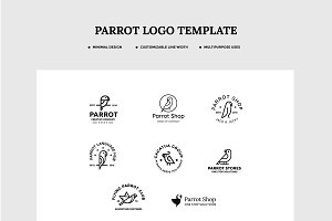 Parrot Logo Set