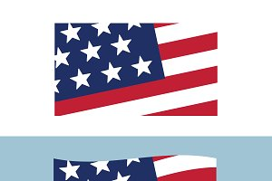 USA sign icon Made in USA. Vector