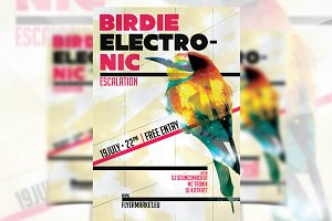 Birdie Electronic - Flyer Template