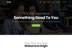 Origin - Multipurpose One Page