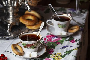 Tea in the Russian style