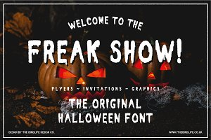 HALLOWEEN - FREAK SHOW