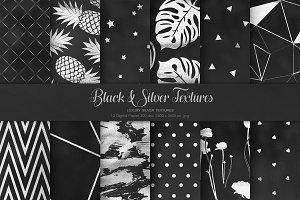 Black & Silver Textures