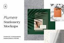 Plumere -Animated Stationery Mockups