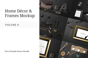Home Decor and Frames Mockup Vol. 6