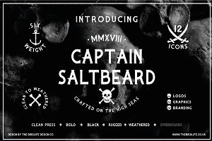 CAPTAIN SALTBEARD