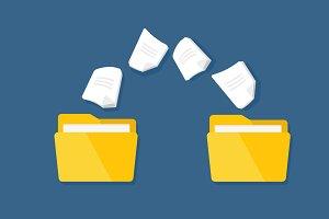 Transfer of documentation