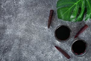 Chicha morada - drink in the Andean