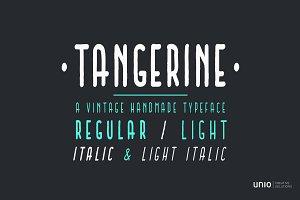 Tangerine - Font Family