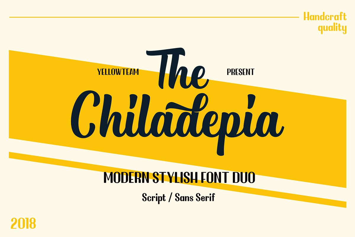 Chiladepia - Font Duo ~ Display Fonts ~ Creative Market