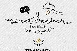 Sweet Dreamer Script Typeface -20%
