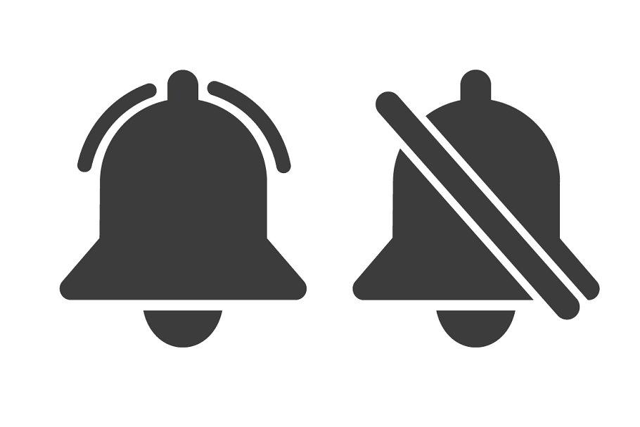 Notification icon vector