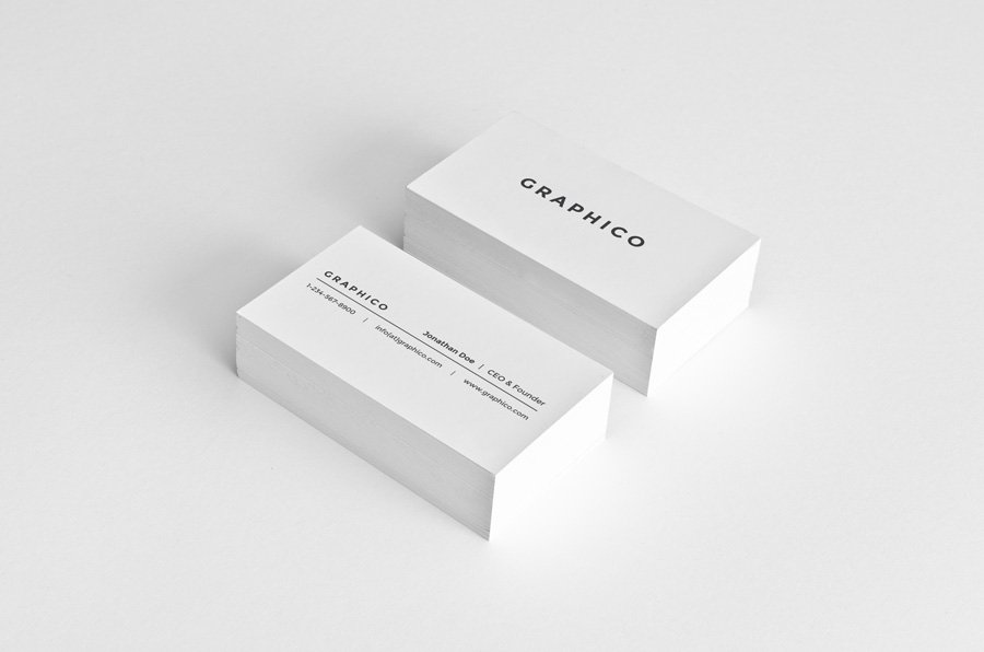 simple personal business card - Etame.mibawa.co