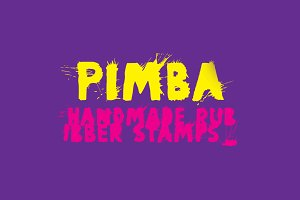 Digital font Pimba