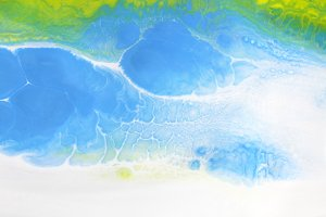 Marble texture. Acrylic colors blots