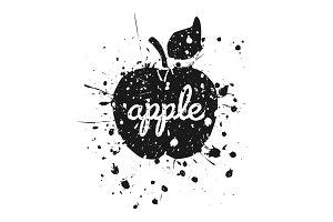 Grunge Apple2