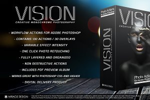 Actions for Photoshop - VISION