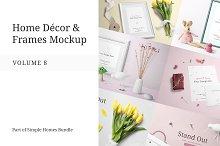 Home Decor and Frames Mockup Vol. 8