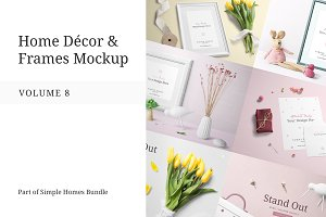 Home Decor and Frames Mockup Vol. 8